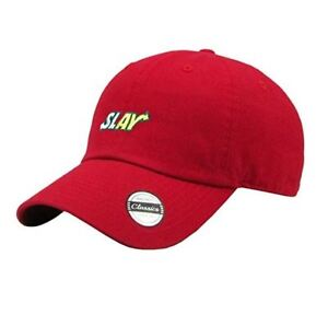 Image is loading Slay-Embroidered-Dad-Hat-Baseball-Cap-Unconstructed-Polo- 98d2962215a7
