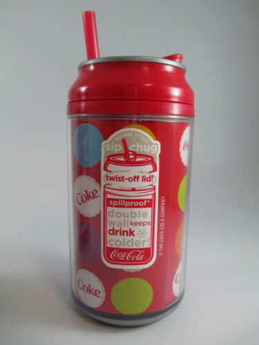 Coca-Cola Set of 2 Double Wall Insulated Water Bottles Cool Gear Igloo Multi