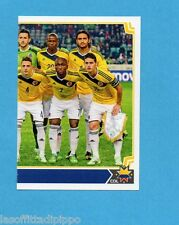 COPA AMERICA 2015 CHILE-Figurina n.230- SQUADRA/TEAM DX -COLOMBIA-NEW-BLACK BACK
