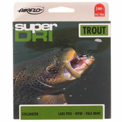 Airflo Super Super Super Dri Lake Pro Floating Fly Line - Pale Mint - WF 6,7,8 3ee