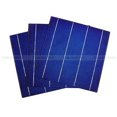 DIY 80W Solar Panel - 20pcs 6x6 Whole High Efficiency Solar Cells 4.3W/Pcs