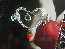 Vampire Love Twilight Wolf Heart Apple Silver Copper Gold Bracelet