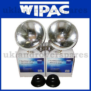 ROUND-HEADLIGHT-HALOGEN-CONVERSION-KIT-7-INCH-COMES-WITH-H4-BULB-amp-PILOT