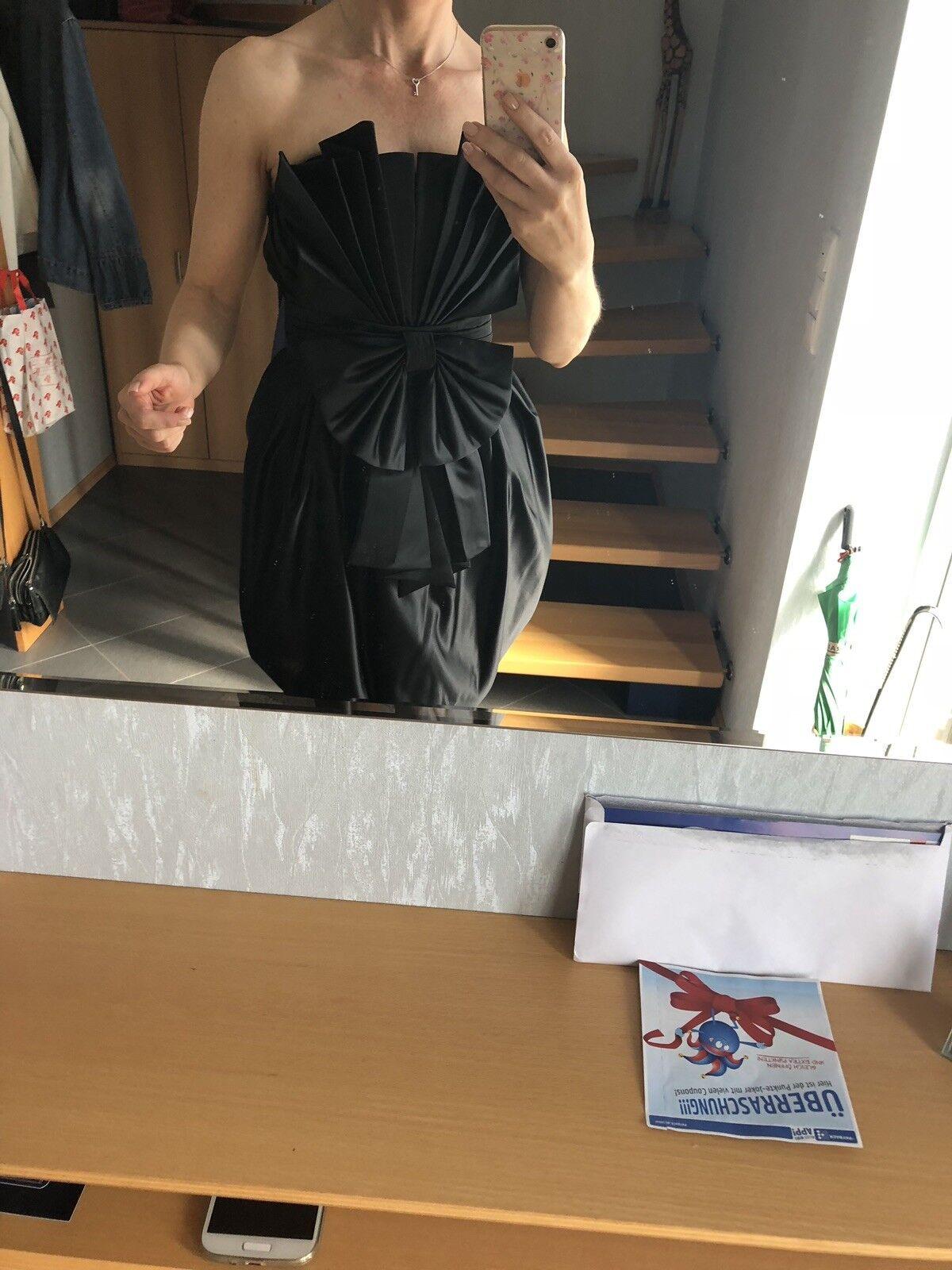 Kleid Schwarz Abend & Party Kleid Gr. XS Neu