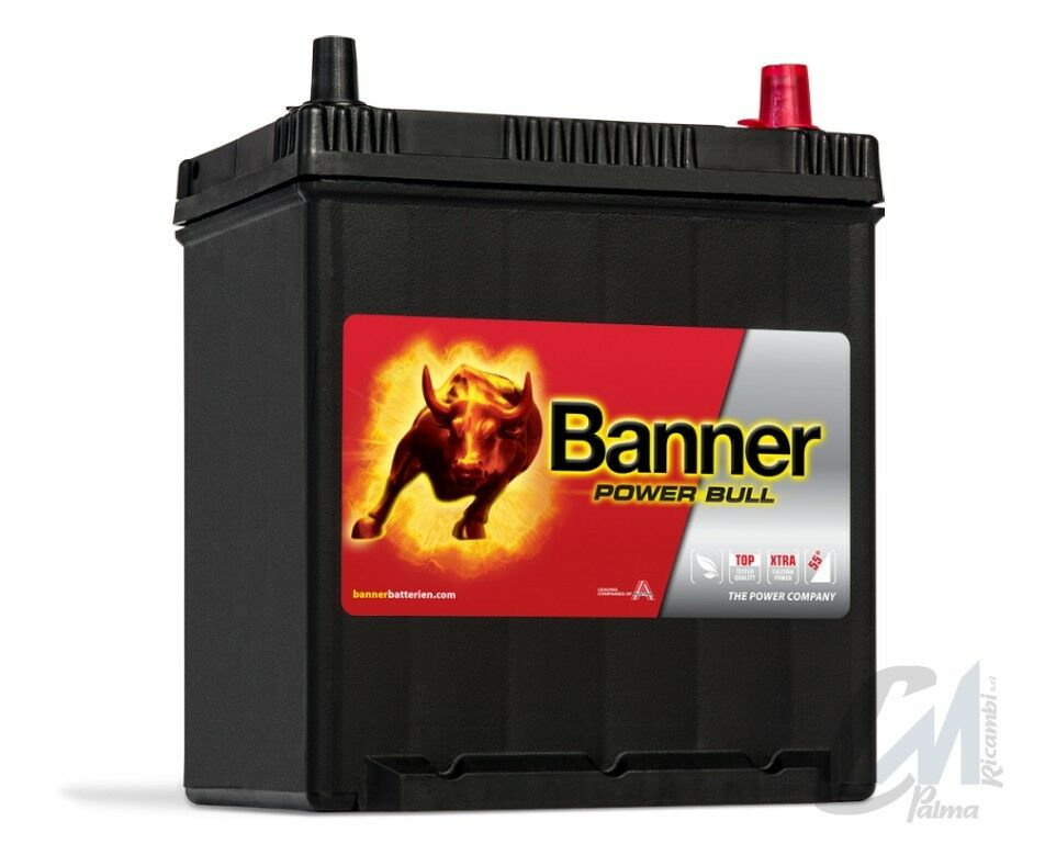 Batterie voiture  Banner Power Bull P4025 12v 40ah 330A 187X137X226mm