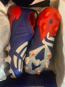 Adidas-Predator-Blue-Mania-Japon-Taille-UK-10-5-45-eu-11US-Entierement-neuf-dans-sa-boite-EH2958