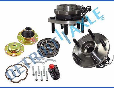 Cv Joint Repair >> Front Drive Shaft Cv Joint Repair Kit Wheel Hub Bearings For Durango 4x4 Abs Ebay