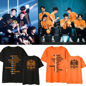 2019-Kpop-SHINHWA-21ST-ANNIVERSARY-T-shirt-Unisex-Fashion-Fan-Shirt-Goods