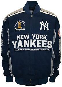 New York Yankees 27 Time World Series Champions Commemorative Jacket