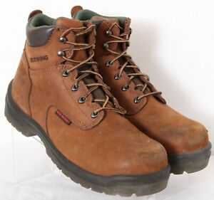 ET Safety Black Honey Navy brown Low back laceup Leather Steel Toecap Work Boots
