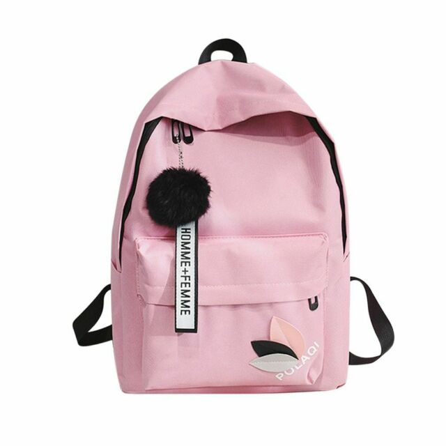 Kayond Casual Style Lightweight Canvas Laptop Bag Cute Backpacks