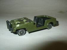 Small Plastic Green Jeep, unknown brand or date (MC-4)
