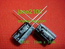 100pcs Original Rubycon 16V 1000UF Electrolytic Capacitor 10x16mm japan