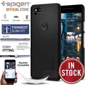 size 40 0e589 861cc Details about Google Pixel 2 XL /2 Case, Genuine SPIGEN Ultra Thin Fit Slim  Cover for Google