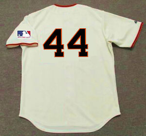 finest selection d1411 ec952 Details about WILLIE McCOVEY San Francisco Giants 1969 Majestic Throwback  Home Baseball Jersey