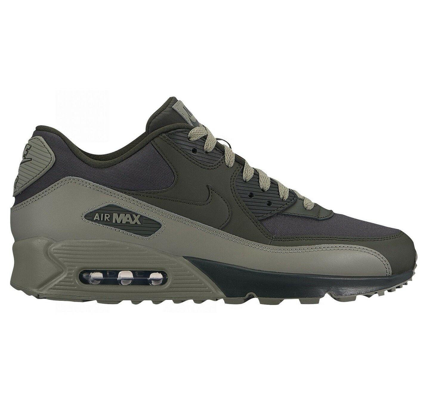 Nike Air Max 90 Essential Uomo 537384-308 Sequoia Stucco Running Shoes Size 8