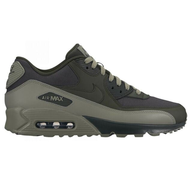 release date 4d6df c0149 Nike Air Max 90 Essential Mens 537384-308 Sequoia Stucco Running Shoes Size  8