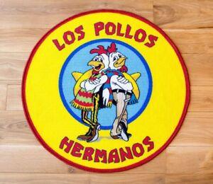 Breaking-Bad-Teppich-Los-Pollos-Hermanos-90-x-90-cm-NEU-amp-OVP