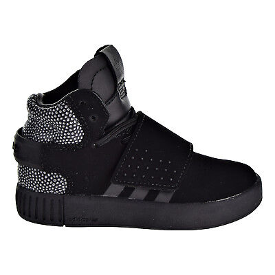 Beautiful Adidas Originals Tubular Invader Ray Black Toddlers Shoes Black/black S80476 Fashionable Patterns Baby Shoes