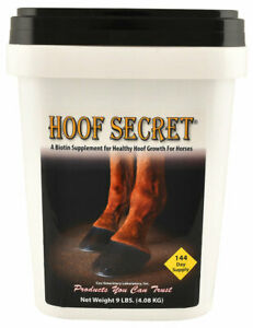 HOOF-SECRET-Promotes-Healthy-Hoof-Growth-For-Horses-9-lb-BEST-PRICE-EVER