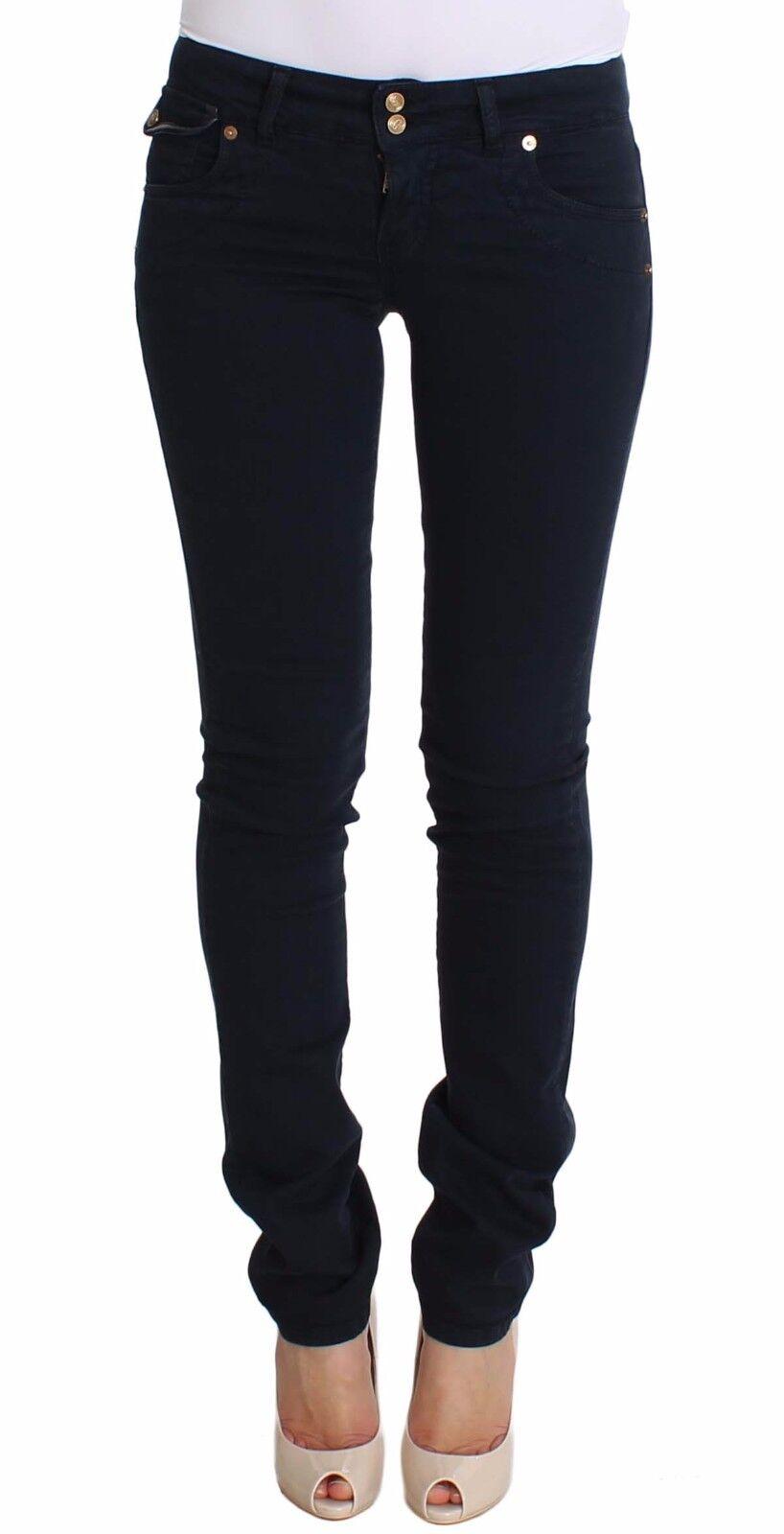 Neuf avec étiquettes  360 JOHN GALLIANO jeans Blau slim fit en coton stretch denim S. W26 IT40