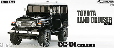 Brillante Tamiya 58564 Toyota Land Cruiser Black Body Rc Auto Kit * Con * Tamiya Esc-mostra Il Titolo Originale