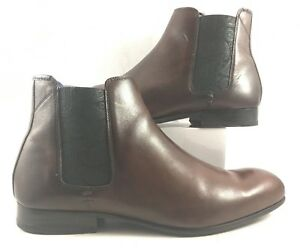 294478ce7 Image is loading Ted-Baker-Brown-Leather-Kayto-Chelsea-Boots-Mens-