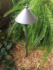 Outdoor low voltage halogen landscape lighting path light SCORPIUSBR aluminum