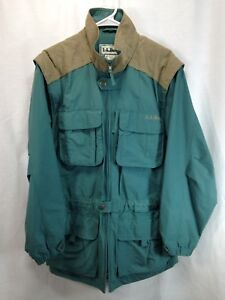 7914d313fce2c VTG LL Bean Field Coat Upland Jacket Hunting Shooting Mens Medium ...