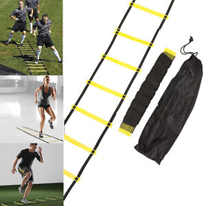10-Feet-5Rung-Agility-Speed-Ladder-w-Bag-Sports-Training-Exercise-Gym-Equipment