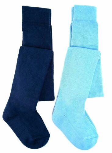 2 Kinder Strumpfhosen Strumpfhose Mädchen Jungen Blau Hellblau 86//92 Tcm Tchibo