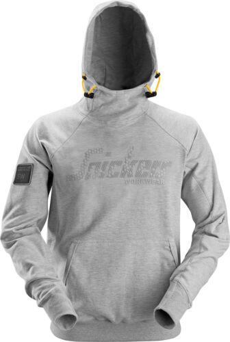 Logo con Felpa cappuccio Snickers grigia Felpa con Pulli cappuccio Gr qFIfEX