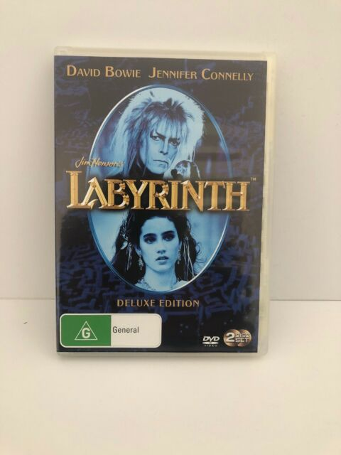 Jim Henson's Labyrinth David Bowie Deluxe Edition, 2 Discs, Region 4 (Pal)