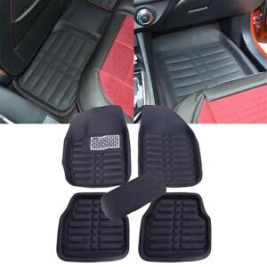 5pcs Universal Car Auto Floor Mats FloorLiner Front&Rear Carpet All Weather Mat