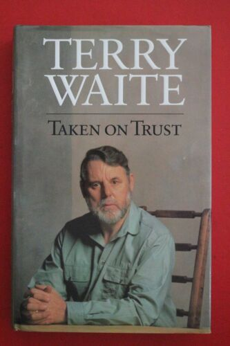 1 of 1 - *SIGNED* TAKEN ON TRUST by Terry Waite - Beirut (Hardcover/Dust Jacket, 1994)