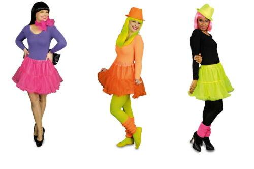 Petticoat rock 50 egli anni Costume da donna Rock /'n/' roll NEON VERDE CARNEVALE