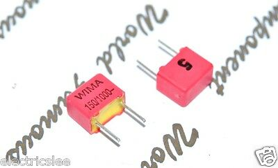 1000V 5/% pitch:5mm Capacitor 10pcs WIMA FKP2 820P 820pF 0.82nF