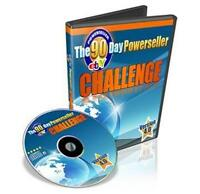 Ebay 90 Day Powerseller Challenge Ebook On CD Plus Resale Right Free Shipping