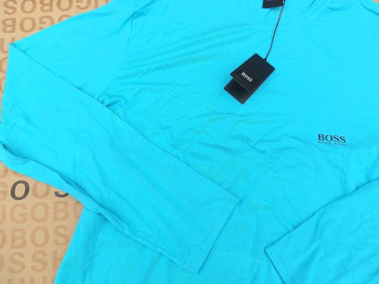 NEW HUGO BOSS BOSS BOSS MENS Blau STRETCH LOUNGE SHIRT NIGHT WEAR BAG T-SHIRT LONG SLEEVE  | Deutschland Store  ace1dc