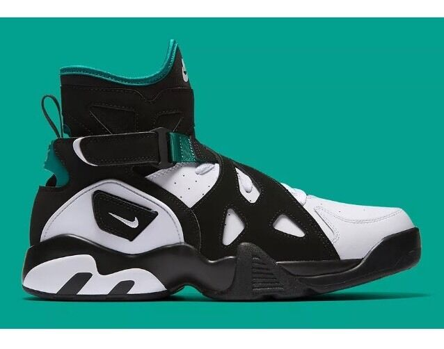Nike MEN'S AIR UNLIMITED Black White Deep Emerald BRAND SIZE 9 SAMPLE SHOE BRAND Emerald NEW 026adc