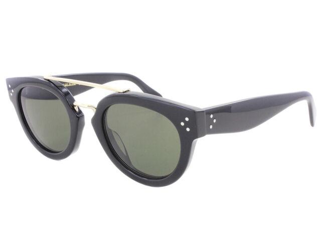 7f4b3659ea7 NEW Celine CL 41043S 8071E Black   Green Sunglasses NO CASE
