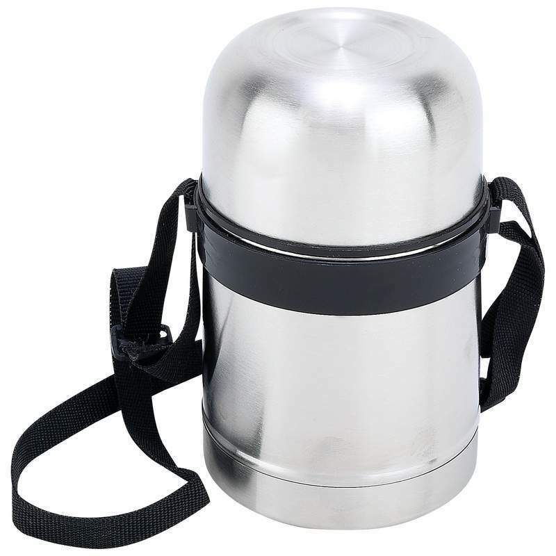 Maxam 17oz (0.5L) Stainless Steel Vacuum Soup Container