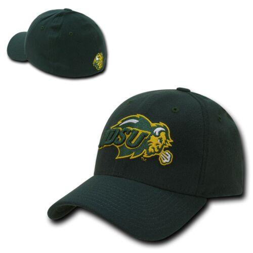 NCAA NDSU North Dakota State Bison U Low Constructed Flex Acrylic Caps Hats