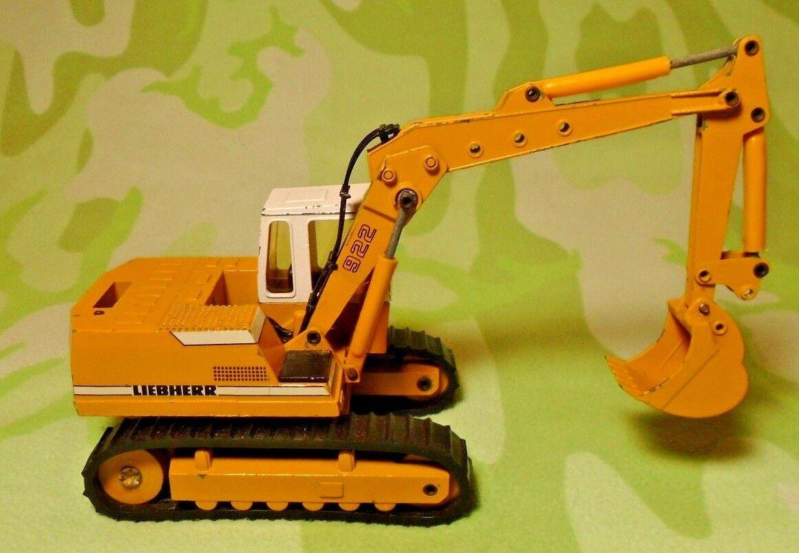 Conrad Liebherr 922 Die Cast Model Excavator West Germany