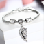 Personalised-Gifts-For-Her-Mum-Nanny-Gran-Auntie-Sister-Godmother-Heart-Bracelet thumbnail 9