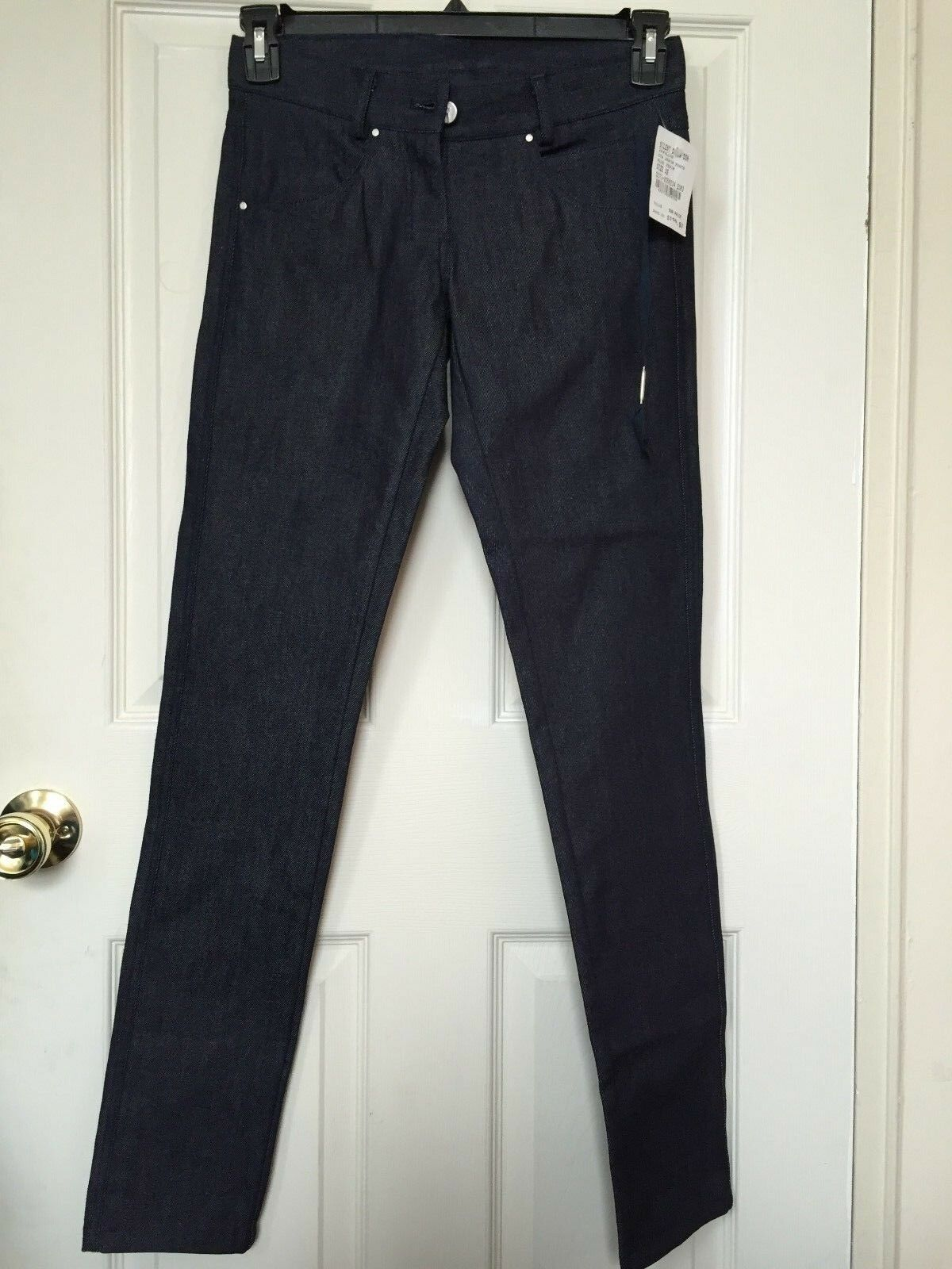 Authentic Silent Damir Doma bluee Denim Skinny Jeans XS Made  MSRP  NWT