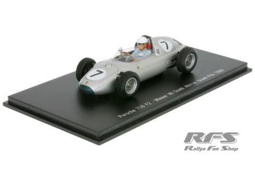 1:43 Porsche 718 RS 60-formula libre-moss sudáfrica 1960-Spark map02021213