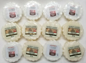 Yankee-Candle-Tarts-NORTH-POLE-Wax-Melts-Lot-of-12-White-New-Christmas