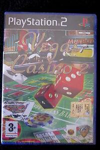 PS2-VEGAS-CASINO-2-Nuovo-risigillato-Da-Phoenix-Games