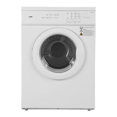 LOGIK LVD7W18 7 kg Vented Tumble Dryer - White - Currys